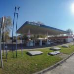 Bajai Automata benzinkút Tankomata