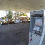 Bajai Automata benzinkút Tankomata ATM